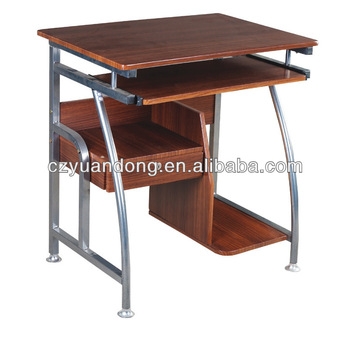 stainless steel modern furniture. modern compact steel wooden computer table furniture stainless g