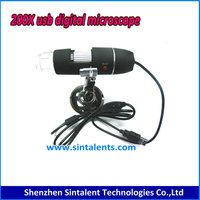 Windows XP/Vista/7/8 & Mac Scope Supplies 200X 2MP 8-LED Zoom wireless USB Digital Microscope