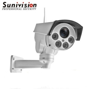 1080P 3G / 4G Sim Card Wireless Wi-Fi Outdoor PTZ IP Camera 4 x Optical Zoom Waterproof