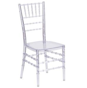 high quality wholesale antique clear resin wedding furniture plastic chivari chairs