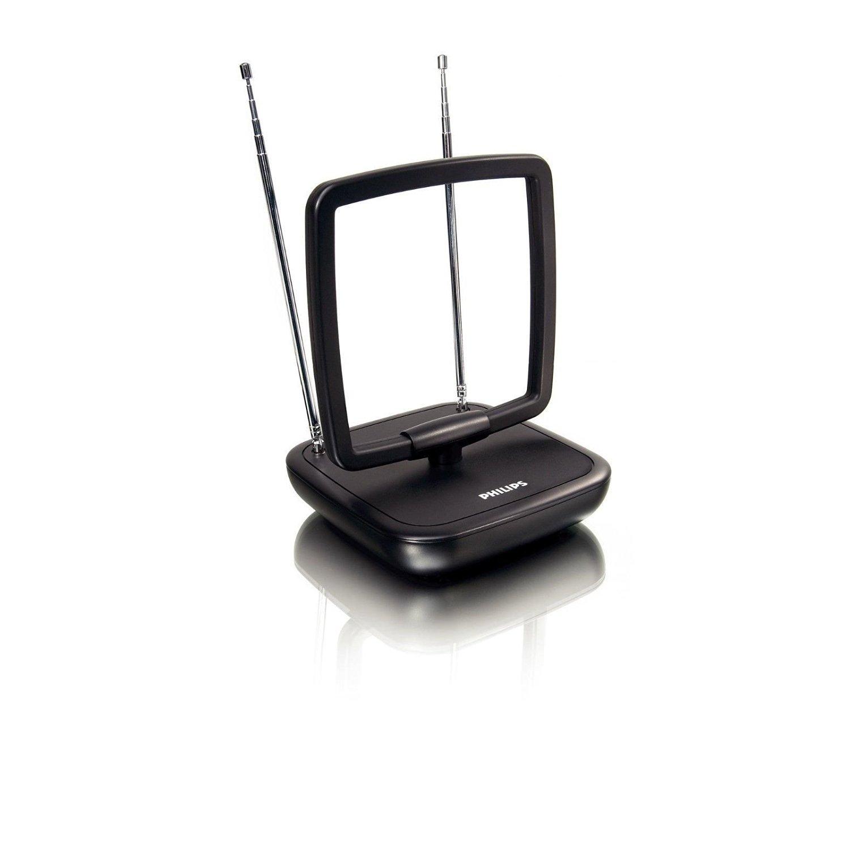 PHILIPS SDV5119/27 HDTV UHF VHF INDOOR TV ANTENNA TILT & SWIVEL DIGITAL DESIGN!!