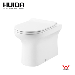 HUIDA Watermark Sanitary ware two Piece WC dual flush Toilet portable western toilet in cheap price