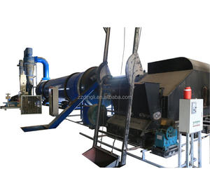 Energy Efficient Spent Brewers Grain Rotary Dryer Beer Meal Residue Drying Solution Turnkey Service