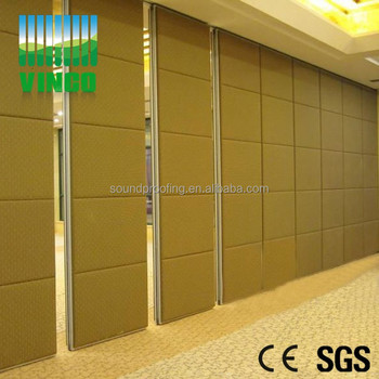 Room Dividers Banquet Hall Glass Partition Wall Modern Movable Sound ...