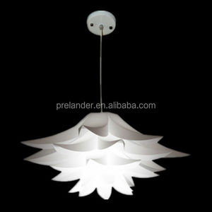 IQ Jigsaw Lamp Material Restaurant Bar Lamp Lotus Light Pendant, Lotus Puzzle Light