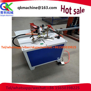 The crystal steel door cutter 45 degree 90 degree cutting aluminum machine