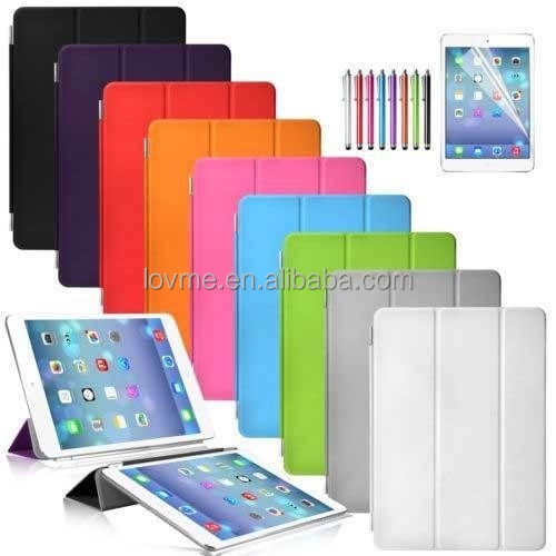 Magnetic Smart Cover Leather Case for iPad Air 2 Case