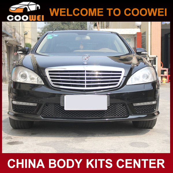 Car bumper ABS w221 S65 body kit fit -Front bumper for B-enz 2012 UP
