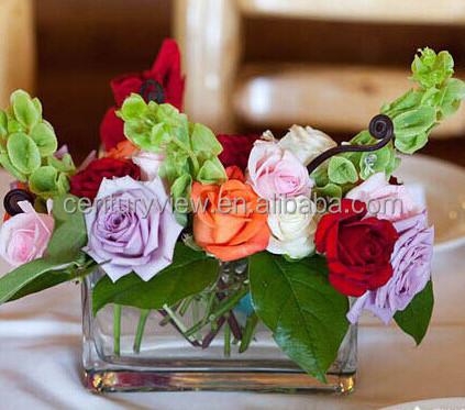 Rectangular Glass Vase Wedding Centerpieces Table Decorations Buy