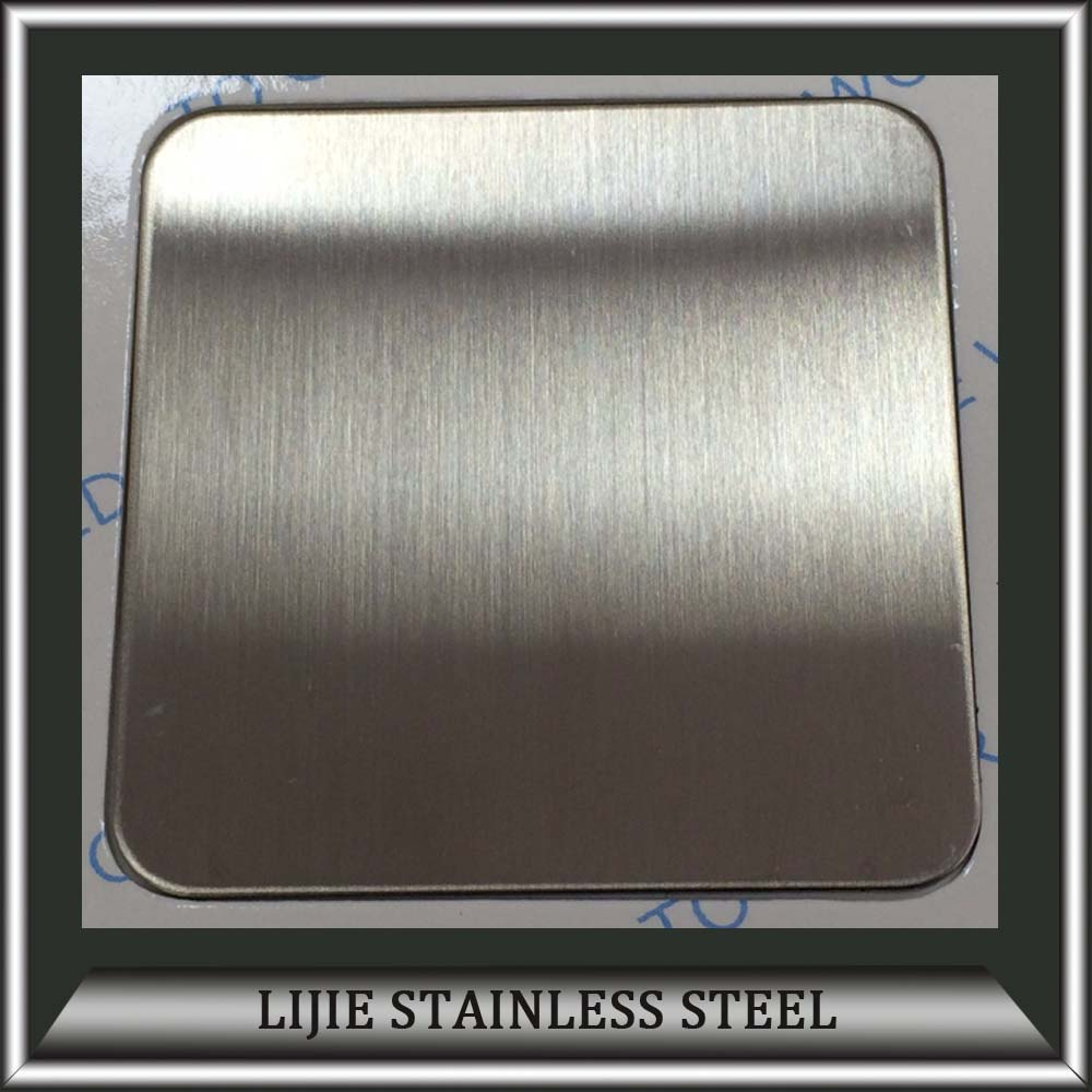 316 Hairline Finish <strong>Stainless</strong> Steel Sheet with PVD Coating