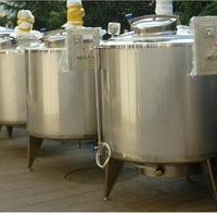 Hot sale side blending cooling and heating 1000L Milk cooling tank