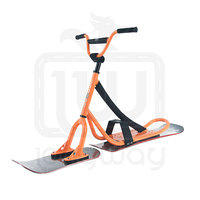 New Children Girl Boy Plastic Sled Snow Glider for Winter Snow Skiing Fun snow scooter