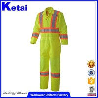 South America Market Fluorescent Coverall Workwear