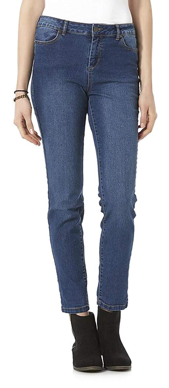c79f701c Route 66 Belle Donne Jeans for Women Boot Leg Slim Fit Jeans Boot Cut Straight  Leg