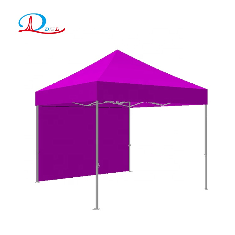 Outdoor Marketing Reclame Quick Schaduw Custom Logo Gedrukt luifel pop up tent