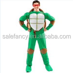 Ninja Halloween Costume Men.Teenage Mutant Ninja Turtles Tv Show Fancy Dress Carnival Costumes Men Adult Halloween Costume Qamc 9155 Buy Ninja Turtles Costumes Carnival Fancy