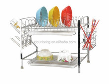 kitchen full color adorn pvc coating iron phone case shelf rackkitchen metal vegetable storage bowl rack