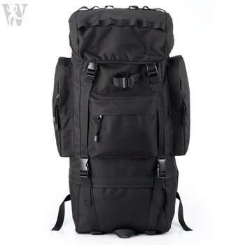 fa9aa489d4 French Army Large Capacity 60L Military Waterproof Backpack Bag With Rain  Cover