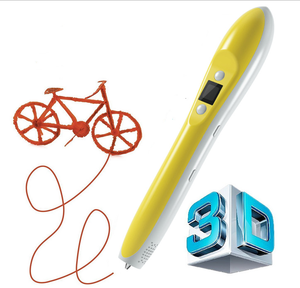 Charging Power LED 3rd Generation multi function Magic 3D Pens Add 1.75mm