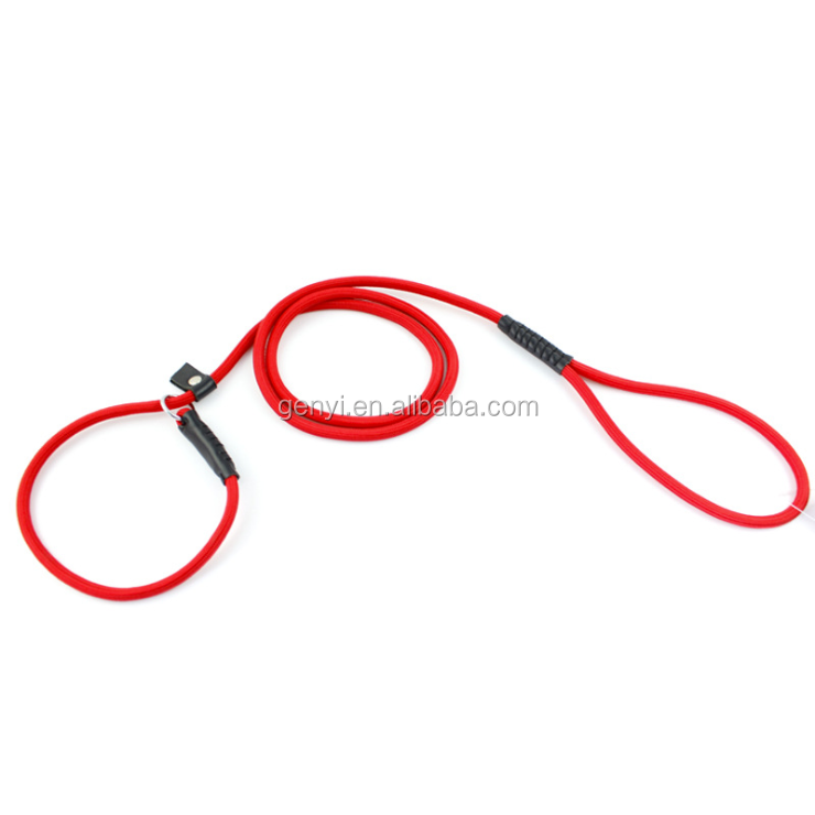 Hot Selling Dog Slip Lead Large Retractable Brass Metal Lead Leash For Pet Rope Wholesale Dog Leash