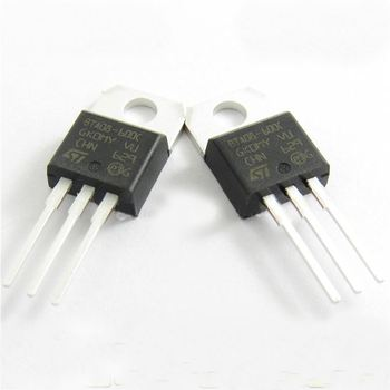 10 pieces 600V 8A STMICROELECTRONICS BTA08-600TWRG TRIAC TO-220AB