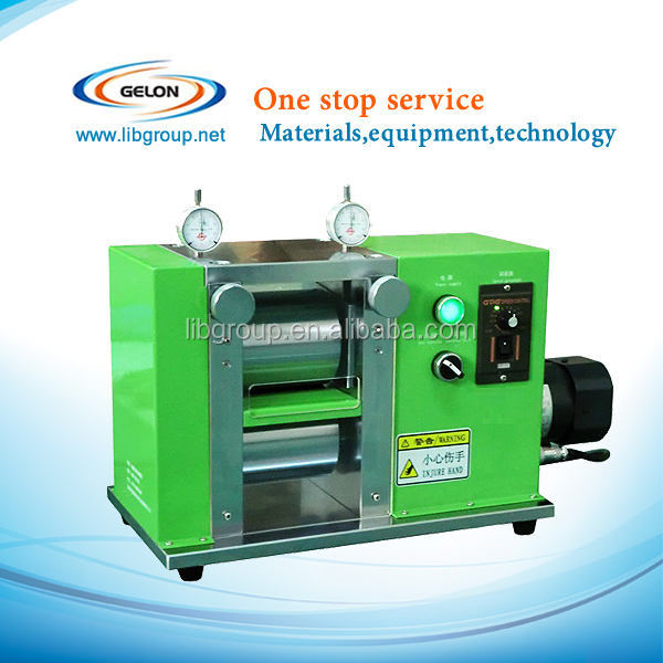 Rolling machine for Li ion coin cell research,is a precision electric rolling press
