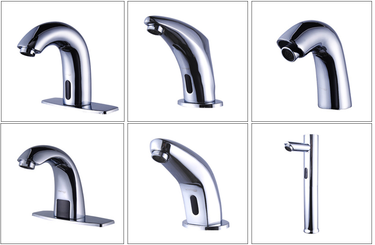 Automatic machine kitchen sink water tap toilet basin faucet automatic kitchen faucet