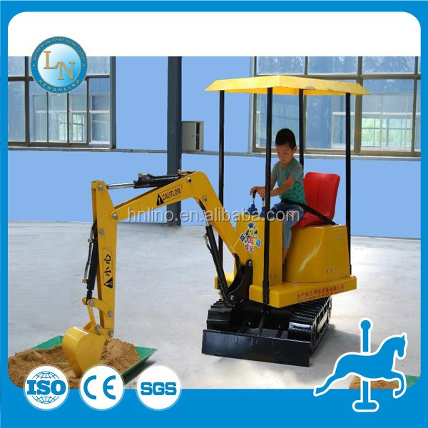 China supplier !! kids mini electric kids excavator rides! Amusement park rides kids toy games electric mini excavator for sale
