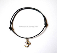 Om Anklet Fantasy yoga Anklet Adjustable leather Anklet