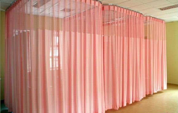 Extrêmement Plafond salle d'hôpital rideau coulissant système-Pôles de Rideau  UU93