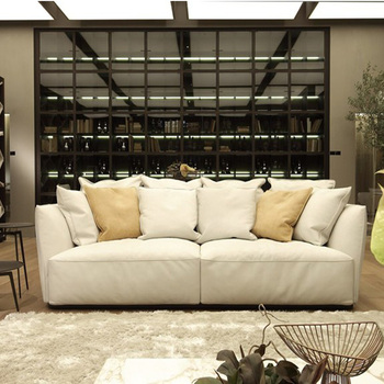 Leather Sofa Set Living Room Modern