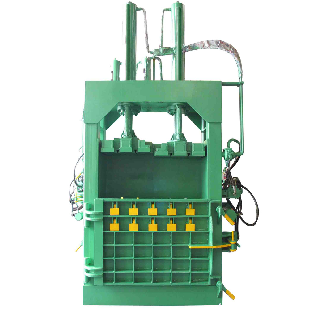 Hydraulic Pressure vertical baler for sale, baler equipment, hydraulic paper baler machine