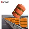 Anti Crash Rolling Barrel / rolling barrier for Highway Safety Guradrail