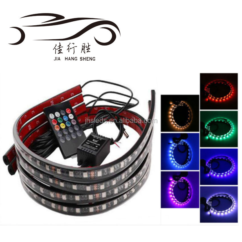 Auto Led Underglow Kit Neon Strip Car Body Glow Light 12V DC For All Cars