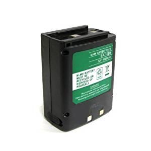 ExpertPower 9.6v 1100mAh NiMh High Capacity Radio Battery for Icom IC-T81A
