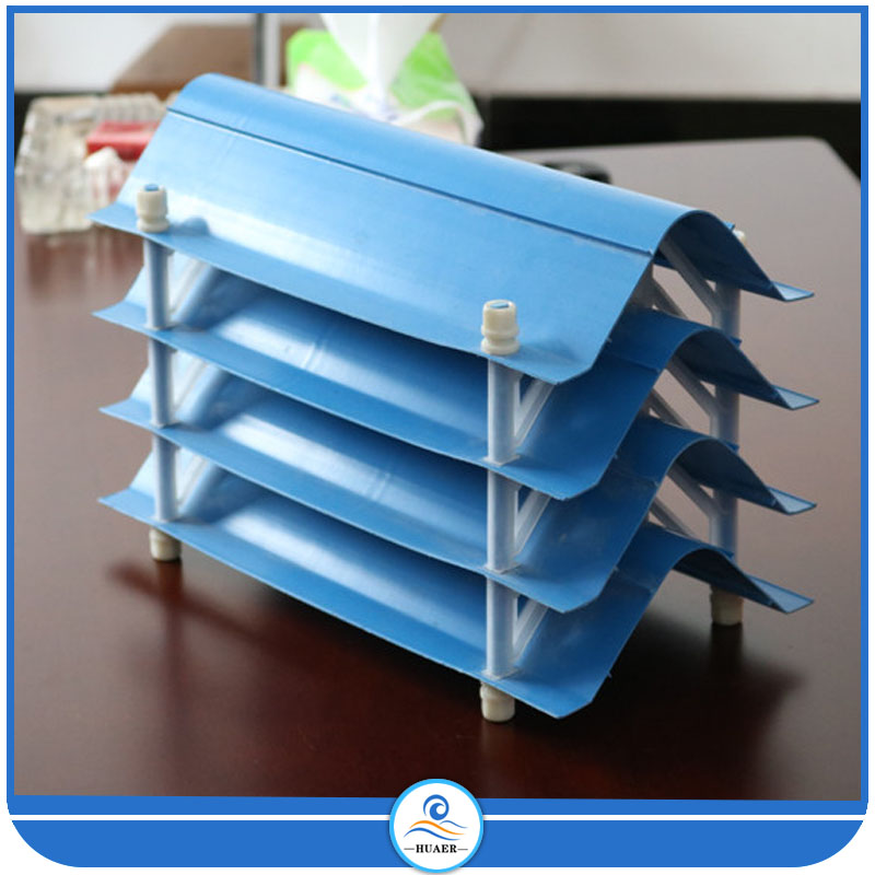 PVC blue hot sale drift eliminator for water cooling