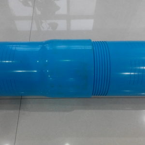 Thread connection PVC water well casing screen pipe for sale