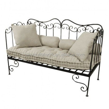 wrought iron indoor furniture. Decorative Home And Garden Furniture Wrought Iron Indoor Bench Metal Long For U