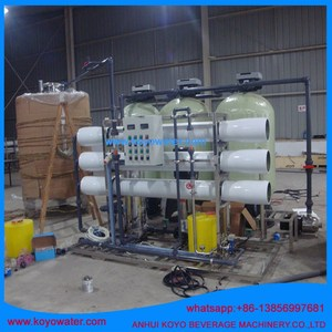 6000L KOYO Reverse Osmosis + Scale System + PH Adjust System