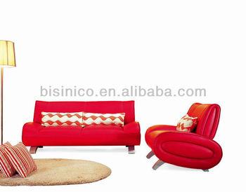 Simple Red Leather Sofa,Japanese Stylish Living Room Sofa Set,Unique Design  Living Room Furniture - Buy Yamato Style Sofa Set Living Room ...