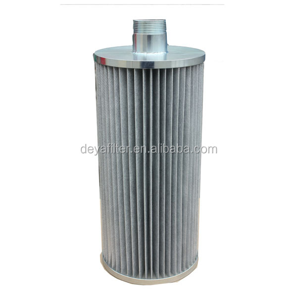 New Hydraulic Filter Cartridge Stainless Steel End Cap with Screw Thread