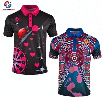 Wholesales Custom Sublimated Polo Shirts No Minimum Colorful Polo