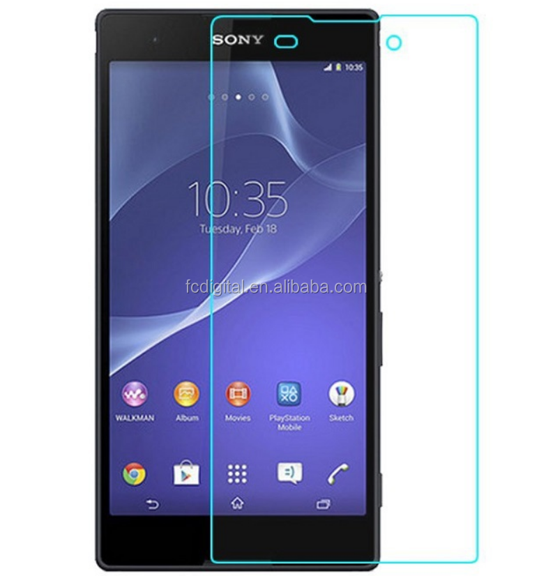 2016 New Arrival 9H 0.3mm 2.5D Premium Tempered Glass Screen for Sony Xperia Z5