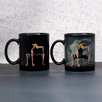 11 Oz Customized Wholesale creative Ceramic Coffee Sublimation Custom Photo Thermal Color Changing magic Mugs