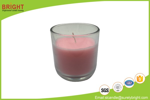 China Making Decoration Scented Ceramic Jar Candles