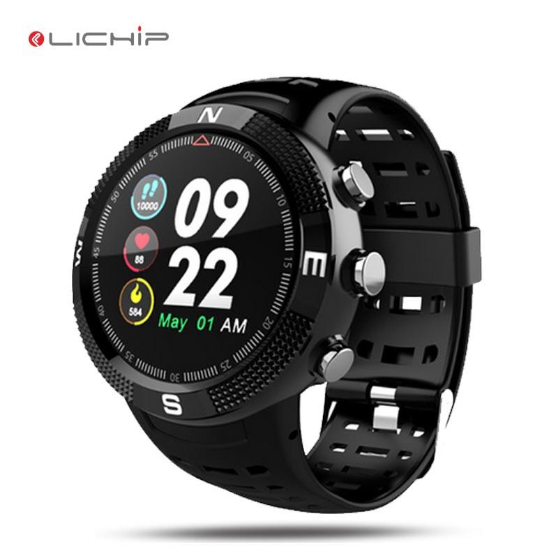 LICHIP L245 Smart watch phone smart bracelet IP67 ip68 waterproof android wireless sport GPS smartwatch for mens women фото