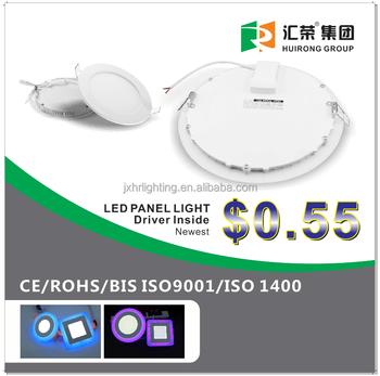 New Driver Inside CE BIS Led Panel Light Round 3w 6w 9w 12w 18w BISR