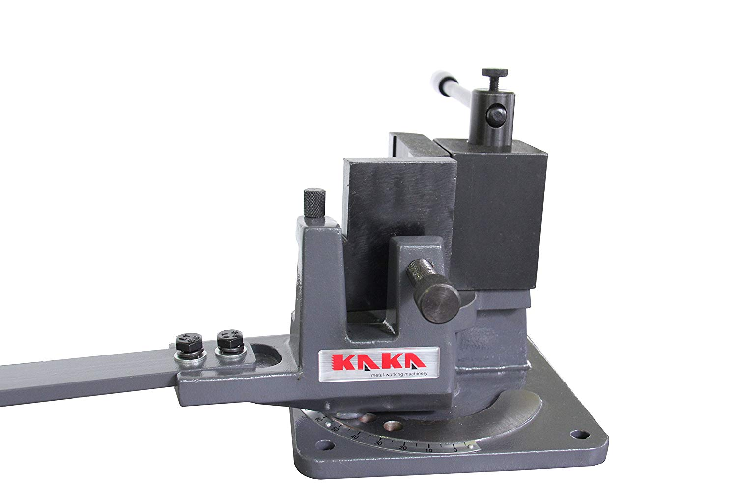 KAKA Industrial UB-70 Cast-Iron Metal Bender, 2-3/4-Inch Hot and Cot Sheet Metal Bender, Solid Design, High Precision Strip Steel, Flat Steel, Round Steel and Angle Steel Metal Bender