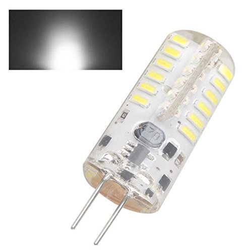 4x g4 48 led light bulb lamp 3watt ac dc 12v undimmable equivalent to 20w t3 halogen track bulb. Black Bedroom Furniture Sets. Home Design Ideas