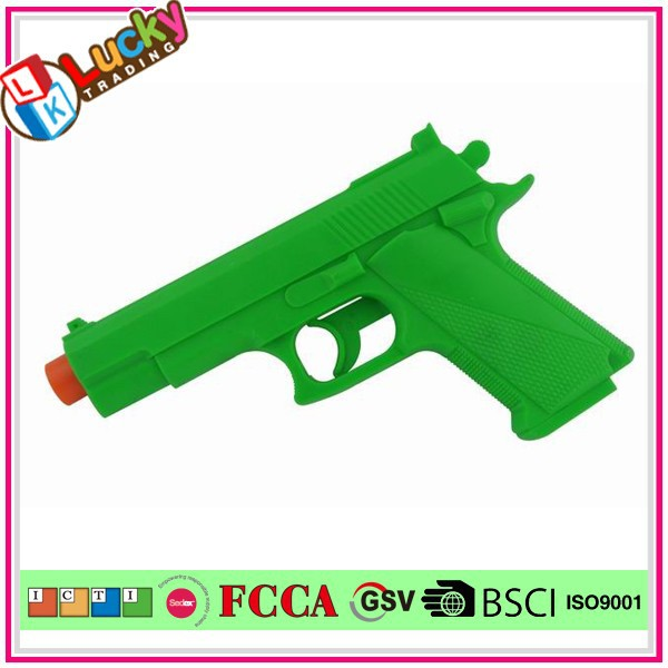 Low Price Plastic Police Weapon Shoot Gun Play Set For Kids